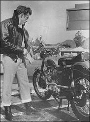 James Dean Indian 500 motorcycle
