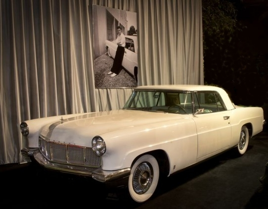 Elvis Presley's 1956 Lincoln Continental Mark II