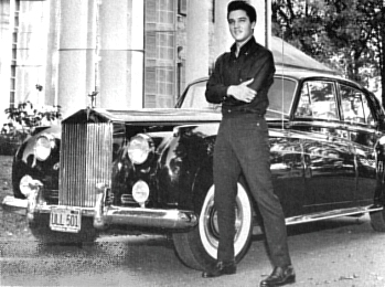 Elvis Rolls Royce, Elvis Presley Cars, Elvis Limousines