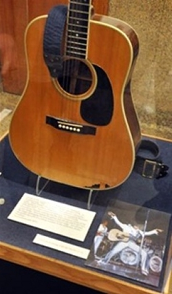 Elvis Smashed Guitar 1977