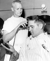 Elvis Presley Army Haircut