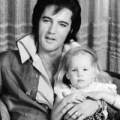 Lisa Marie Presley and Elvis