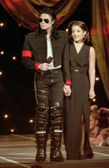 Michael Jackson Lisa Marie Presley MTV Awards