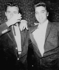 JohnnyCash-Elvis