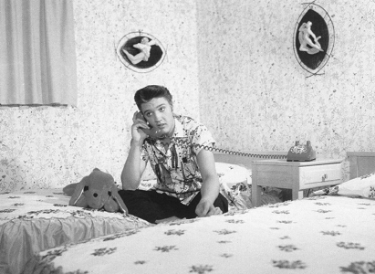 Elvis Presley Bedroom - Elvis Bedroom