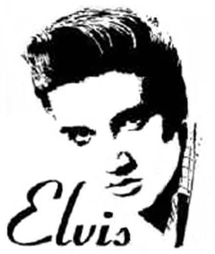 Elvis Stencil