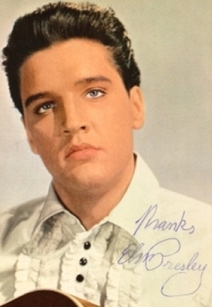 Authentic Elvis Presley Autograph