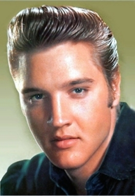 Elvis Hairstyle 1950s Blond
