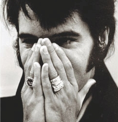 Elvis Presley Diamond Wedding Ring