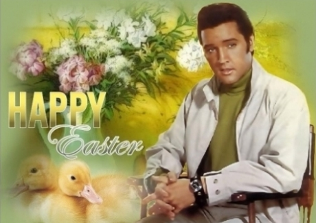 Elvis Presley Easter Cards