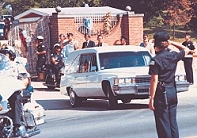 Elvis White Funeral Cortage