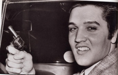 Elvis Gun Sold at Auction
