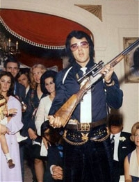 Elvis Personalised Rifle