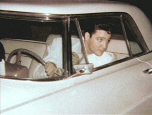 Elvis White Lincoln Continental 1956