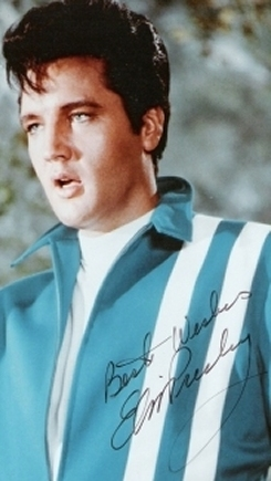 Authentic Elvis Signature