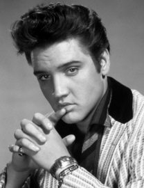 Elvis Presley Like Tony Curtis Hair Style