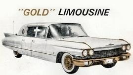 Elvis Gold Limousine