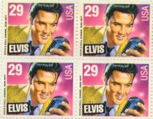 Elvis Postage Stamp 1993