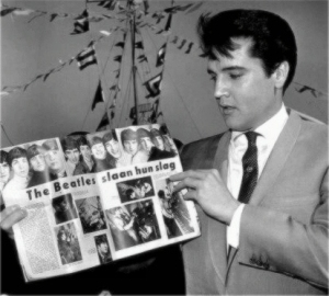 Elvis-Beatles Beatles with Elvis