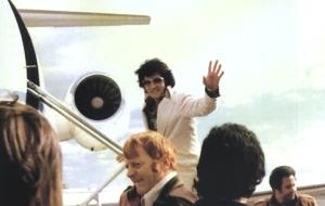 Elvis Boarding Lisa Marie Plane
