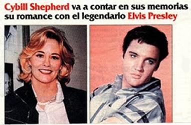 Cybill Shepherd Elvis Presley Affair