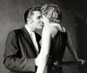 Famous Elvis Kiss Photo - Tongue Kiss Picture