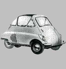 1953 Iso Isetta Car