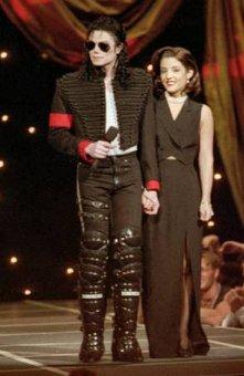 Michael Jackson Lisa Marie Presley MTV Awards