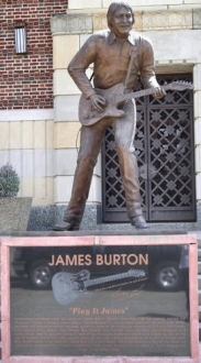 James Burton Statue LA