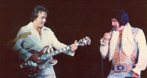 John Wilkinson Elvis Guitarist