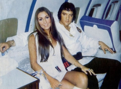 Linda Thompson Elvis Presley 1973