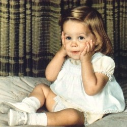 Baby Picture of Lisa Marie Presley