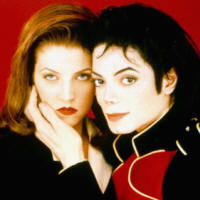 Michael Jackson with wife Lisa Marie 1994