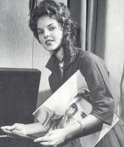 Priscilla Presley age 14