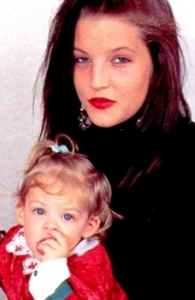 Riley Keough with mother Lisa Marie