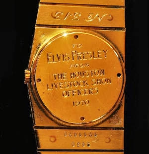 Gold Rolex Midas - Elvis Presley