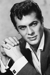 Tony Curtis - Elvis Styled his hair after Tony Curtis