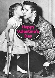 Elvis Presley Valentine's Day Cards