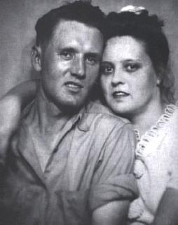 Vernon & Gladys Presley Wedding 1933