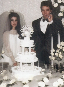 Elvis Presley Wedding Photos Elvis Priscilla Wedding 1967 In Las Vegas