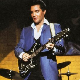 Elvis Les Paul Gibson Guitar