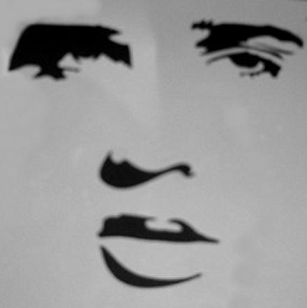 Elvis Cake Stencil