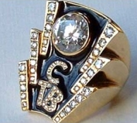 Elvis Presley TCB Diamond Ring