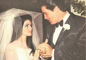 Elvis Priscilla Wedding at Aladdin Hotel